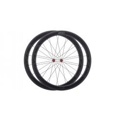 Juego de ruedas BH EVO C50 Carbono Tubeless Cubierta Shimano