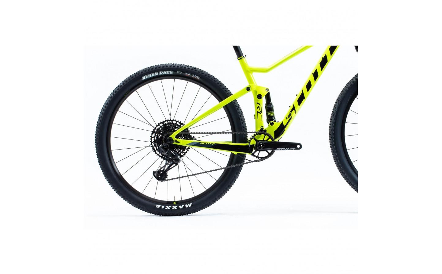 Color Negro y Amarillo Scott RC Pro 2019 Guantes Cortos para Bicicleta