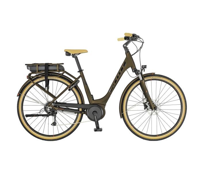 Bicicleta Scott Sub Active eRide Unisex Rack T. 2019