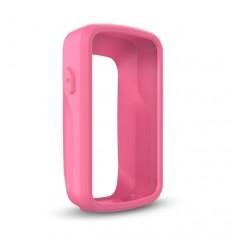 Funda de silicona Garmin rosa Edge 820