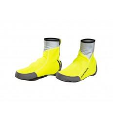 Cubrezapatillas Bontrager Halo S1 Softshell Amarillo fluorescente