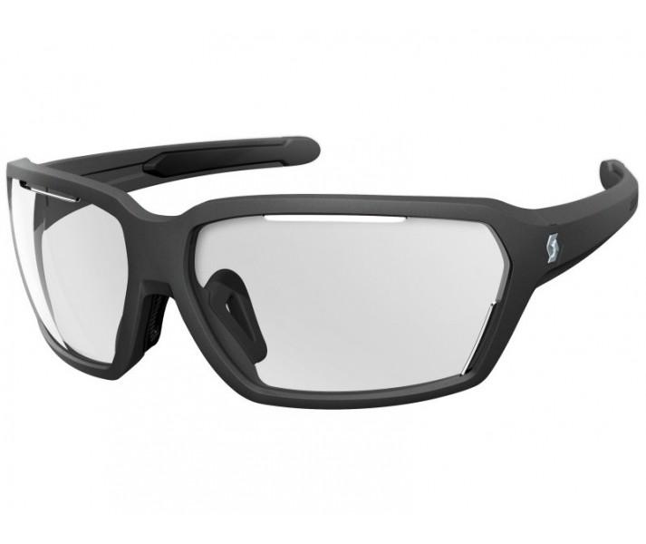 42534a9c64dbf Gafas De Sol Scott Vector Negro Mate Lente Transparente - Fabregues ...