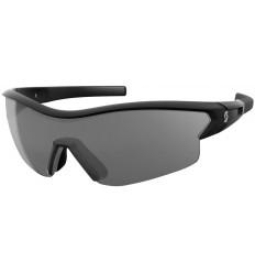 Gafas De Sol Scott Leap Negro Brillo Lente Gris + Transparente