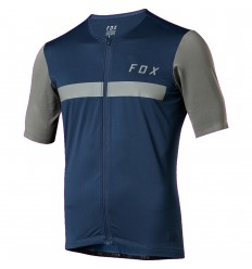 Maillot Fox Manga Corta Ascent Azul