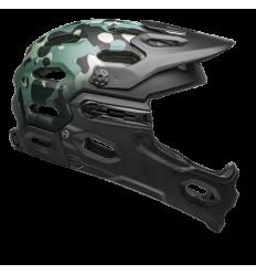 Casco Bell Super 3R Mips Negro Mate/Verde Camo