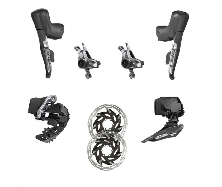 Grupo Sram Red e-Tap AXS 2X Dub Hidro Post Mount