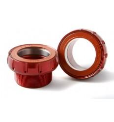 Pedalier Rotor Ita30 68 73Mm Ceramic Red