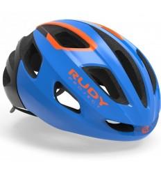Casco Rudy Project Strym Azul / Naranja (Brillo)