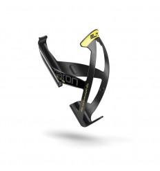 Portabidónes Elite Paron Race Fibra Negro Logo Amarillo