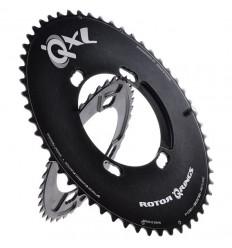 Plato Rotor Carretera Ovalado QXL 16% Q-XL 50Ax110 Exterior negro