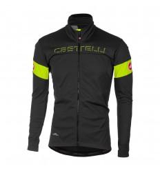 Chaqueta Castelli Transition Gris Oscuro/Amarillo Fluor