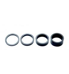 Set Separadores Dirección Pro Carbono 3/5/10/15mm 1-1/4