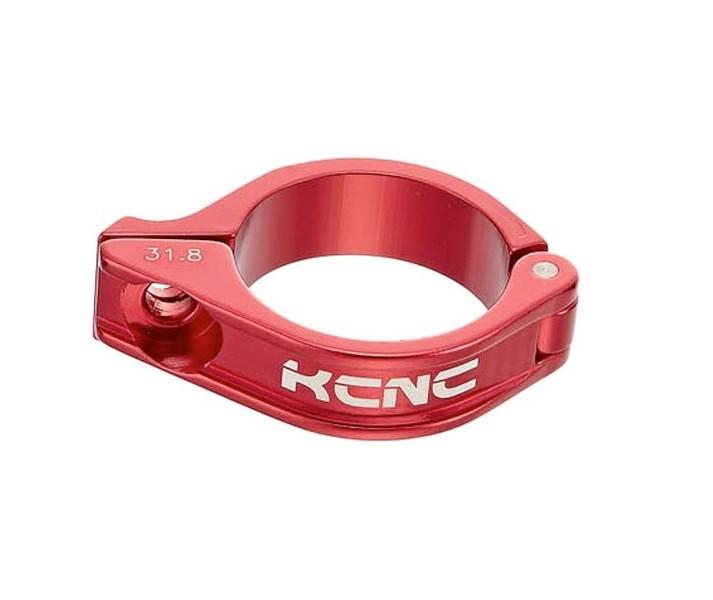 Cierre Tija Sillin KCNC SC-8 Desviador KCNC 3» 31.8mm Rojo |KCABSC8I174RJ|
