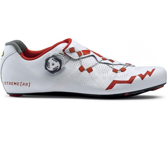comprar nuevo original mejor calificado gran variedad de estilos Zapatillas Northwave Carretera EXTREME RR Blanco-Rojo