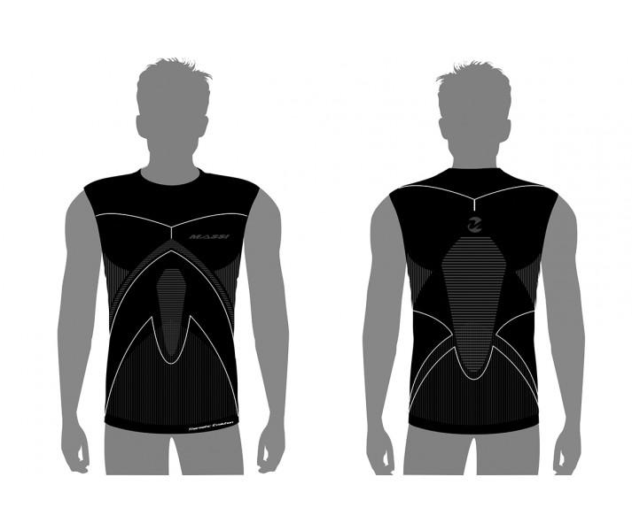 Camiseta S/M Massi Thermetic Evolut.Carbon