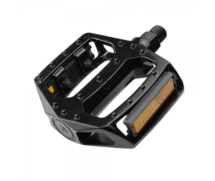 Pedales Eltin BMX Aluminio Negro