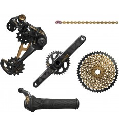 Grupo Sram Eagle 12v Oro Grip Shift GXP 32d