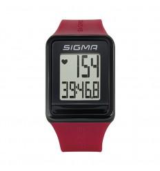 Pulsómetro Sigma Id.Go Rojo