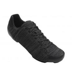 Zapatillas Giro Carretera Republic R knit negro antracita
