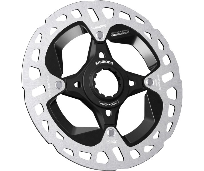 Disco Shimano 140mm XTR Center Lock Ice-Tech Freeza