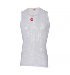 Camiseta Sin Mangas Castelli CORE MESH 3 blanco