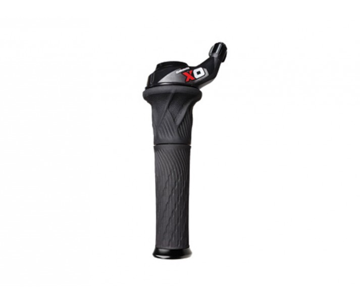 Mando Sram X0 Grip Shift 2V delantero Lock-on color Rojo