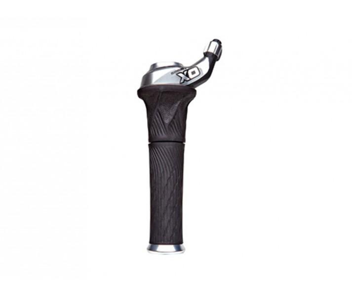 Mando Sram X0 Grip Shift 2V trasero Lock-on color Silver