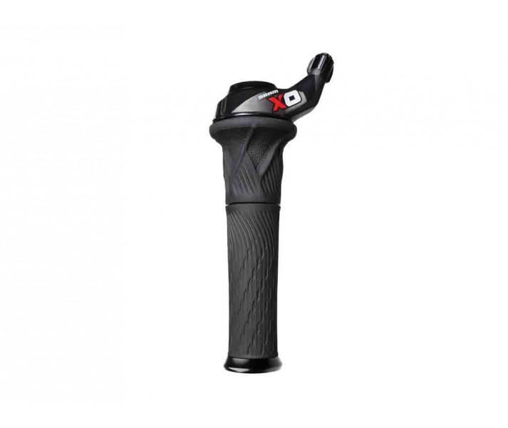 Mando Sram X0 Grip Shift 2X10 Lock-on color Rojo