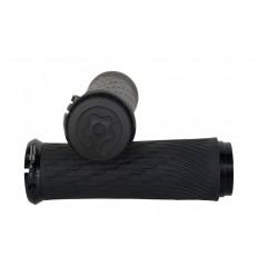 Puños Sram GripShift Lock-on color Negro