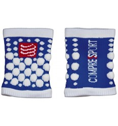 Muñequera Compressport 3D.Dots Azul