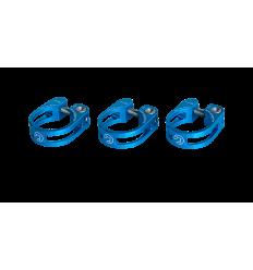 Abrazadera Pro Cierre tija Sillín preforada 31,8mm Azul