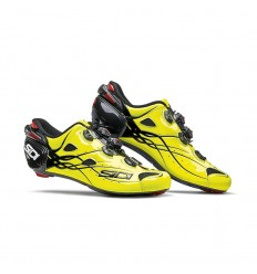 Zapatillas Sidi Shot Carbono Amarillo Fluo/Negro