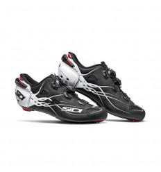 Zapatillas Sidi Shot Carbono Negro Mate/Blanco