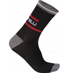 Calcetines Castelli 12 cm INCENDIO 12 negro