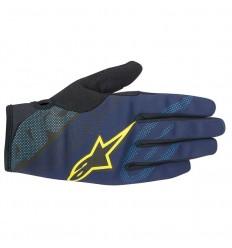 Guantes Alpinestars Stratus Azul/Amarillo