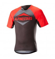 Maillot Alpinestars Mesa Manga Corta Rojo/Gris