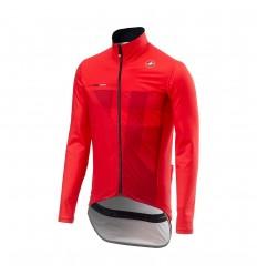 Chaqueta Castelli Lluvia Pro Fit Light Rojo