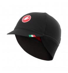 Gorra Castelli Difesa Thermal Negro/Rojo