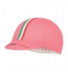 Gorra Castelli Rosso Corsa Cycling Cap Giro Rosa