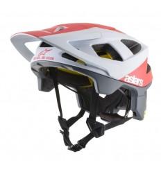 Casco MTB Alpinestars Vector Tech Polar Blanco y Rojo mate