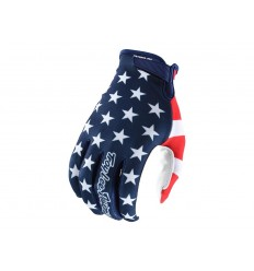 Guantes Largos Troy Lee Air American Navy/Rojo