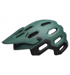 Casco Bell Super 3 Negro Mate/Verde Militar