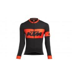 Maillot Largo KTM Factory Team Race All Season Negro/Naranja