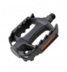 Pedal Eltin MTB Plastico Negro