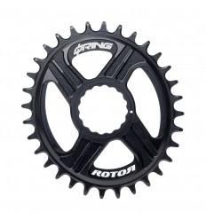 Plato Rotor Mtb Dm Qring Rex 1/2 Y 3D+ Negro