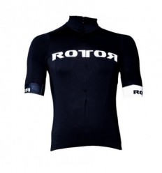 Maillot Rotor Corporate Negro-Blanco