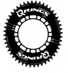 Plato Rotor Carretera Ovalado QX1 12,5% QX1 Road Q52 BCD110X5 Negro Aero