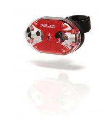 Luz trasera XLC CL-R02 THEBE 5 LED Fijación Universal
