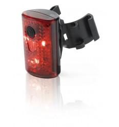 Luz trasera XLC CL-R14 PAN 3 LEDS ROJAS CON Carga USB