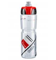 Bidon Elite Ombra Transparente Rojo 950ml